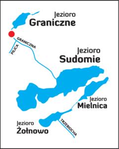 Diagram of the lake