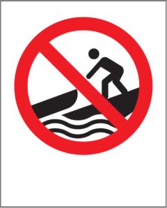 Launching prohibited