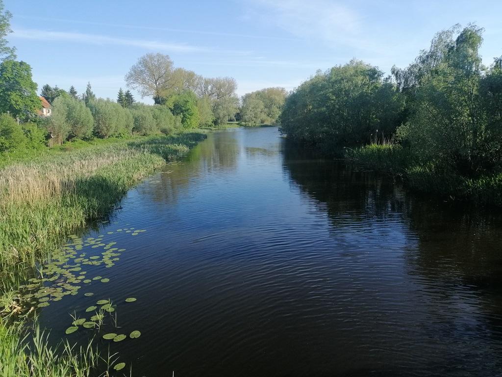 Panieński Canal – easy section (Solnica – Osłonka)