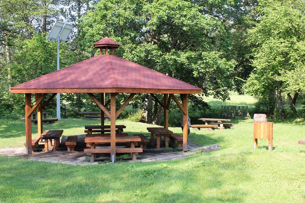 Przystań kajakowa i pole biwakowe w Starej Brdzie Pilskiej